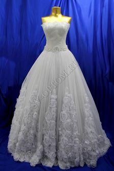 Свадебное платье Цвет: Белый №17 раз. 42. арт. 111