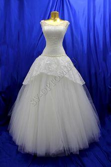 Свадебное платье Цвет: Кремовый №343 раз. 46. арт. 112
