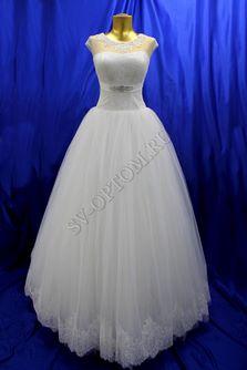 Свадебное платье Цвет: Кремовый №1316 раз. 44. арт. 113