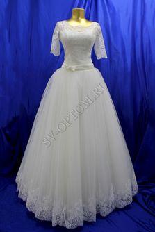 Свадебное платье Цвет: Кремовый №804 раз. 46. арт. 114
