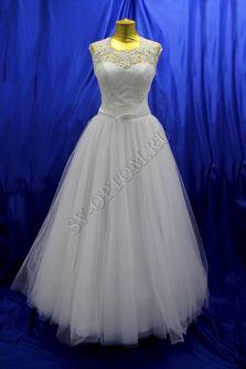Свадебное платье Цвет: Белый №6 раз. 46. арт. 115
