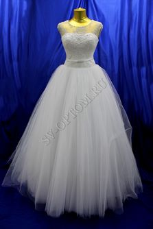 Свадебное платье Цвет: Белый №1315 раз. 48. арт. 116