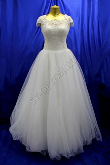 Свадебное платье Цвет: Кремовый №1317 раз. 46. арт. 117