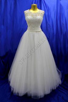 Свадебное платье Цвет: Кремовый №781 раз. 44. арт. 118