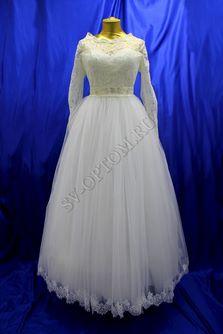 Свадебное платье Цвет: Айвори №177 раз. 52. арт. 119