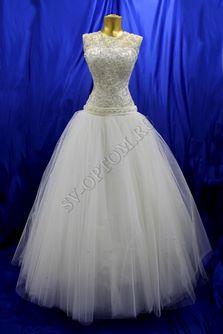 Свадебное платье Цвет: Кремовый №340 раз. 46. арт. 120