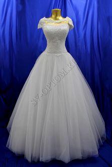Свадебное платье Цвет: Белый №1 раз. 46. арт. 121