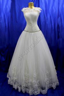 Свадебное платье Цвет: Айвори №70 раз. 44. арт. 123