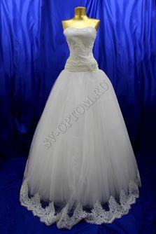 Свадебное платье Цвет: Айвори №241, 160 раз. 46. арт. 124