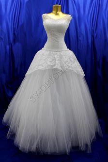 Свадебное платье Цвет: Белый №348 раз. 46. арт. 125