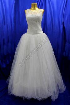 Свадебное платье Цвет: Кремовый №170 раз. 44. арт. 127