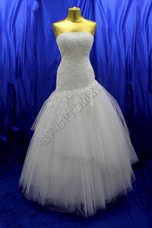 Свадебное платье Цвет: Белый №192 раз. 50. арт. 130