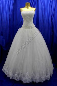 Свадебное платье Цвет: Айвори №40, 57 раз. 44. арт. 131