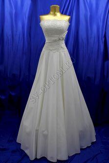 Свадебное платье Цвет: Кремовый №121, 275 раз. 44. арт. 132