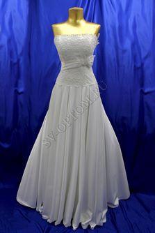 Свадебное платье Цвет: Белый №121 раз. 44. арт. 133