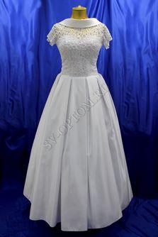 Свадебное платье Цвет: Белый №129 раз. 46. арт. 134