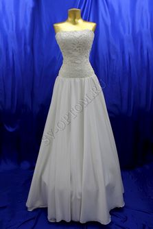 Свадебное платье Цвет: Кремовый №87, 215 раз. 42. арт. 135