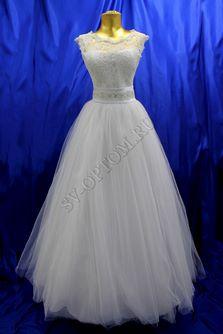 Свадебное платье Цвет: Белый №468 раз. 42. арт. 138