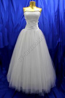 Свадебное платье Цвет: Белый №194, 55 раз. 46. арт. 140