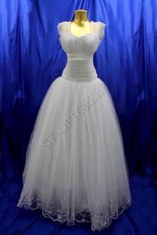 Свадебное платье Цвет: Белый №148, 73 раз. 44. арт. 141