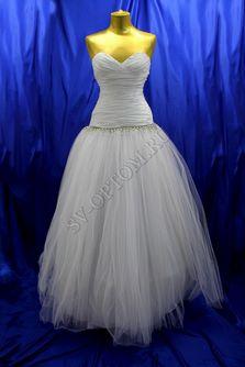 Свадебное платье Цвет: Белый №193 раз. 48. арт. 142
