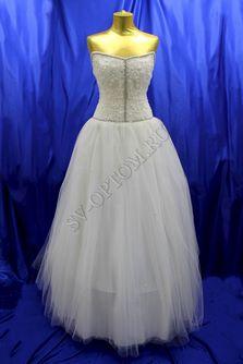 Свадебное платье Цвет: Айвори №33 раз. 48. арт. 143