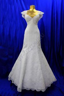 Свадебное платье Цвет: Белый №76 раз. 44. арт. 151
